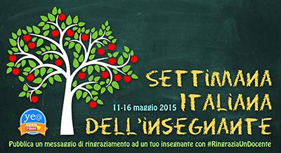 settimana italiana dell'insegnante