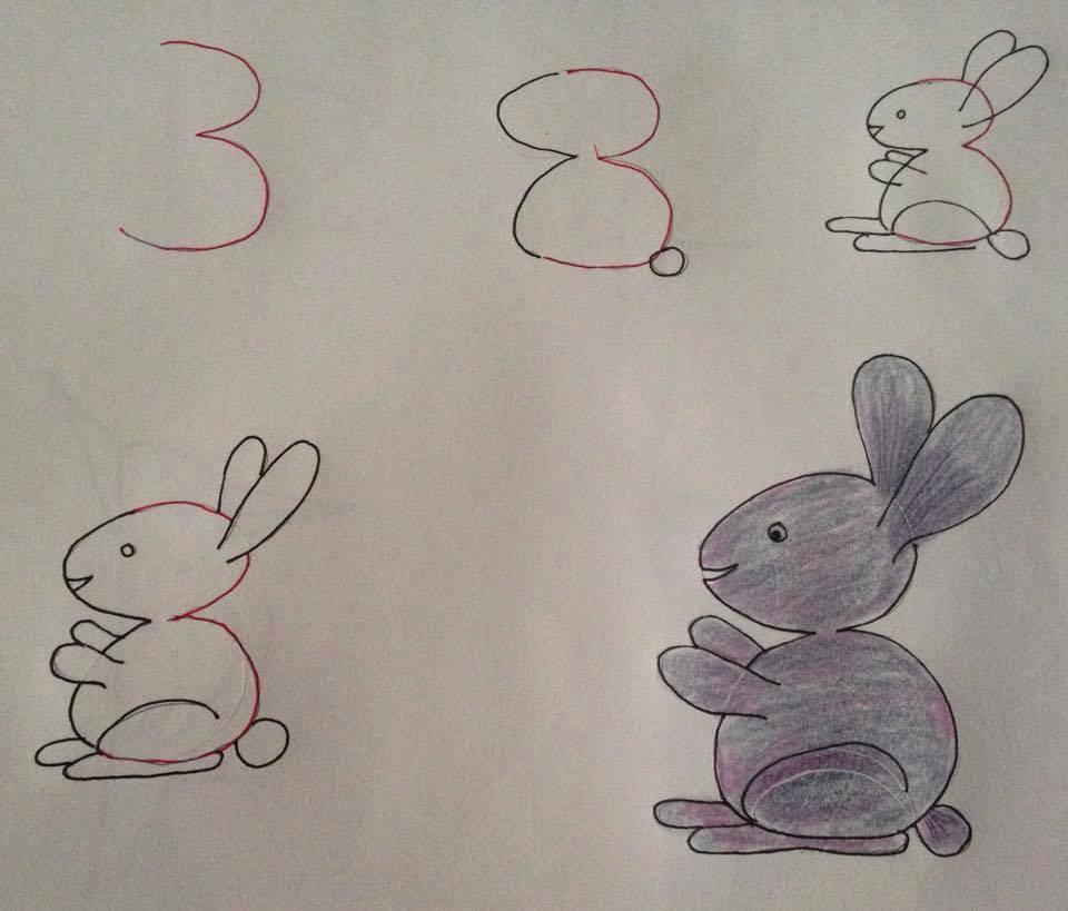 Disegni Per Bambini Con Un Numero Alla Base