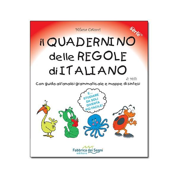 Quadernino delle REGOLE DI ITALIANO 1