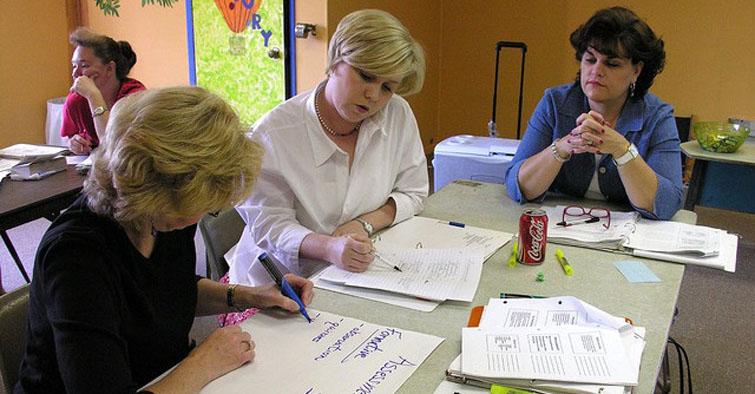 insegnanti-in-competizione-fra-loro