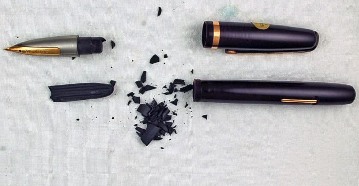 riparare una penna