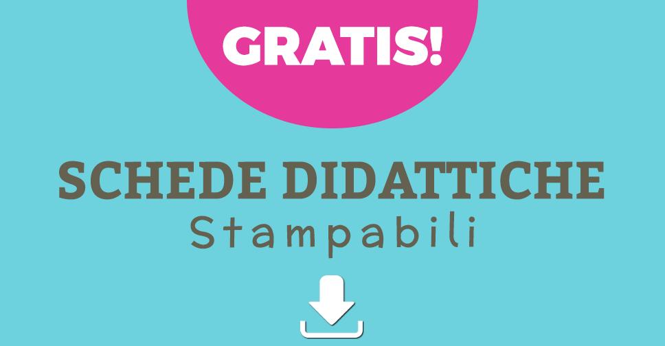 abbastanza Schede Gratuite Didattiche di Italiano per la Scuola Primaria LZ63