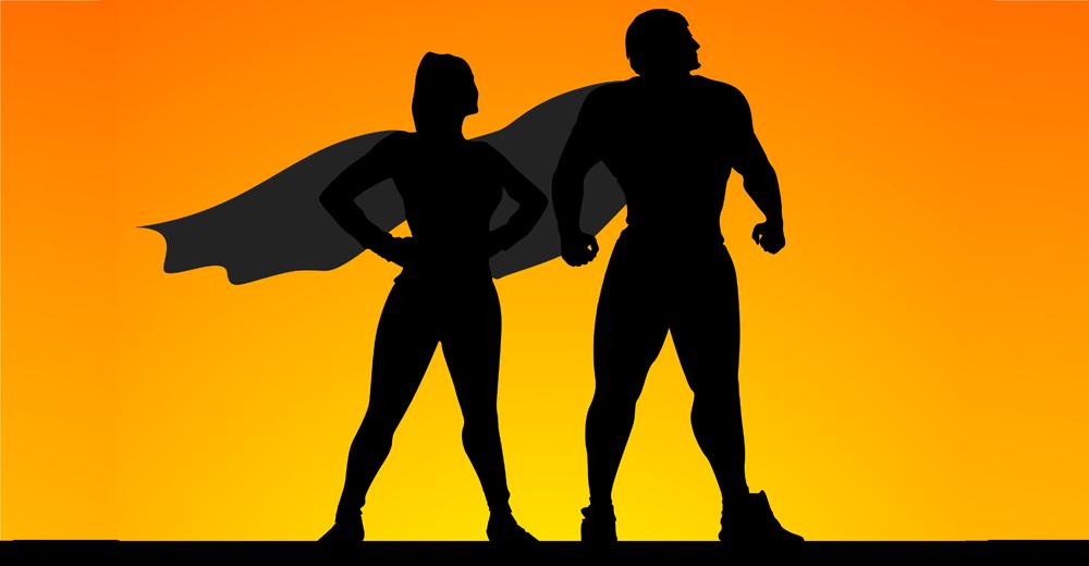 insegnante supereroe