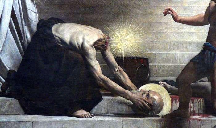 martirio di san dionigi
