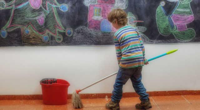 pulizia-della-propria-aula