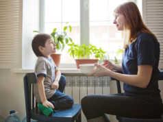 comunicare con un bambino
