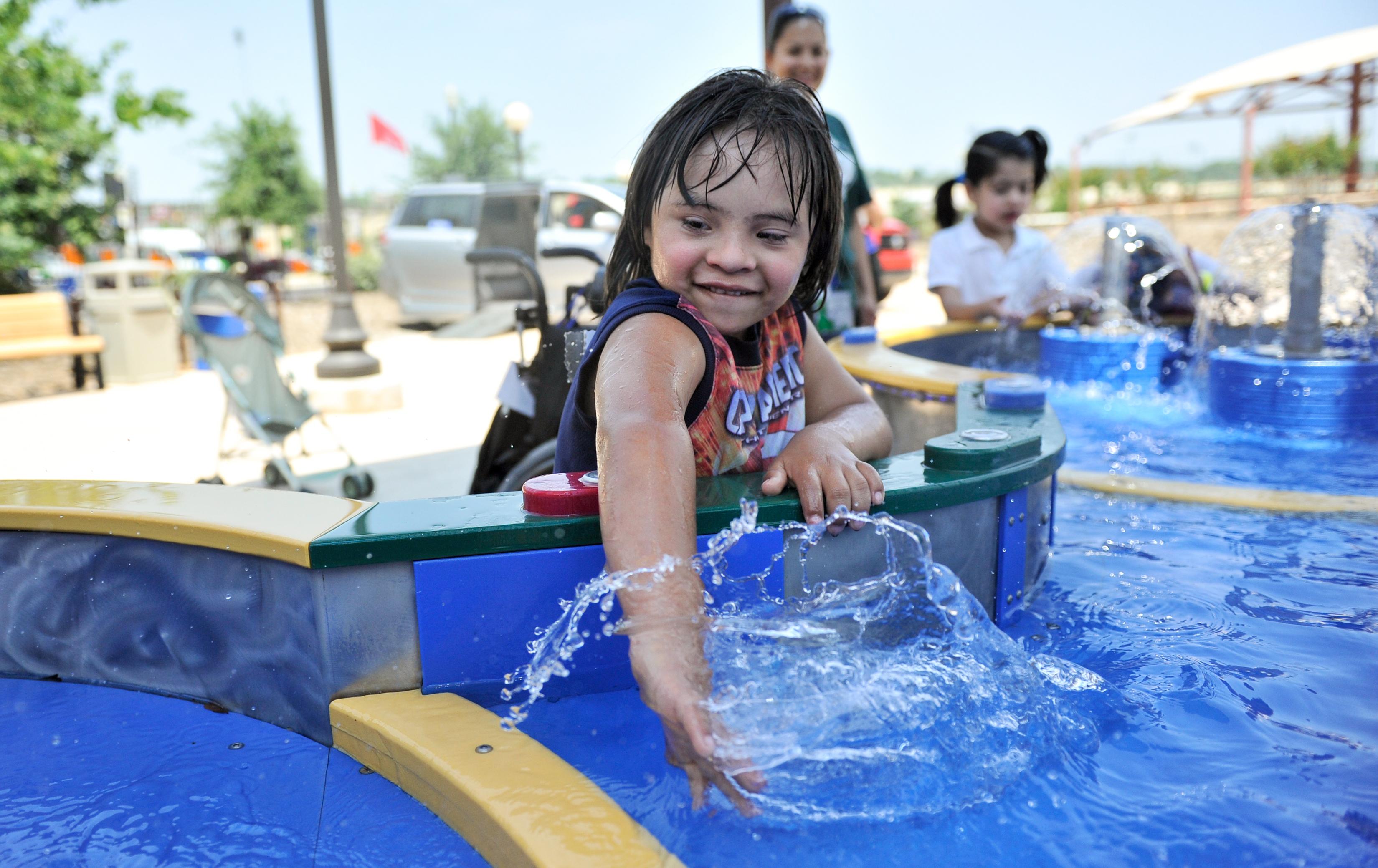 parco acquatico disabili