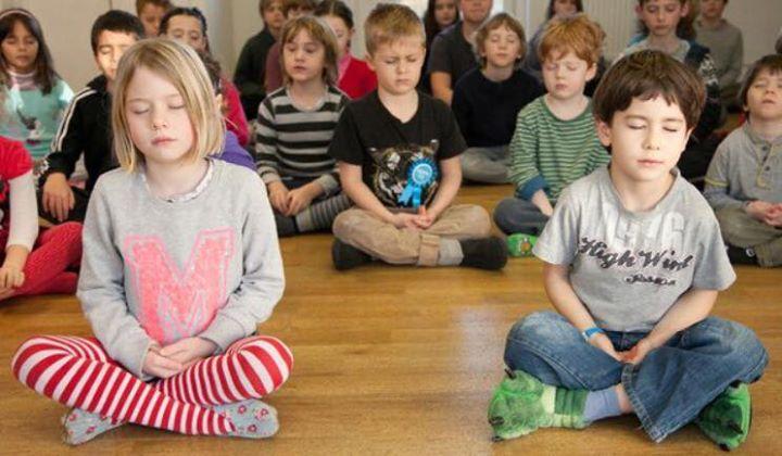 meditazione in classe