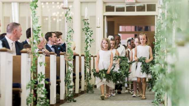 studenti al matrimonio