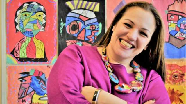 Andria Zafirakou global teacher prize 2018