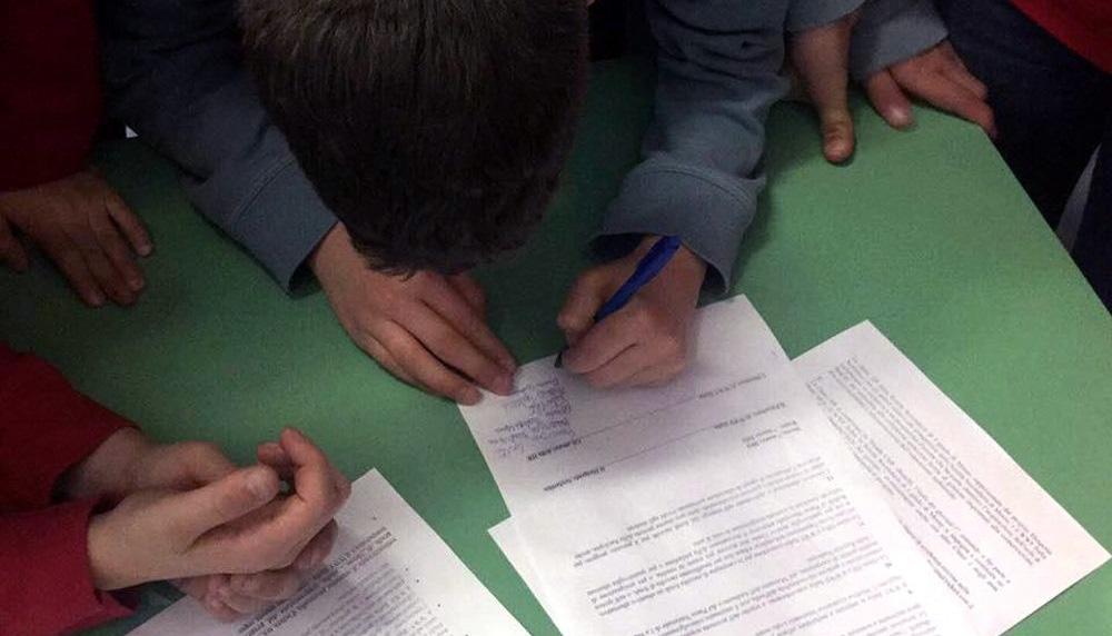 Firma degli Studenti