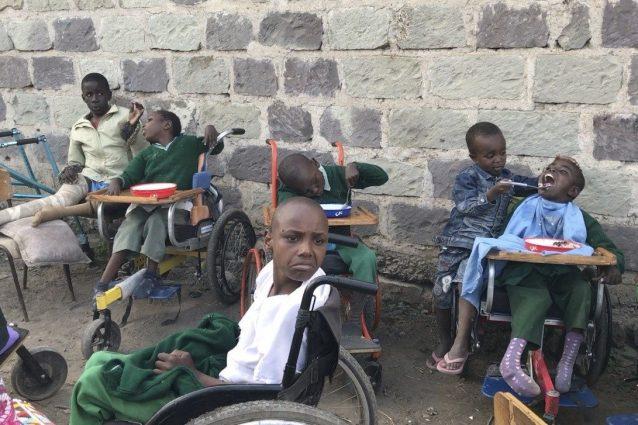 Bambini Disabili in Kenya