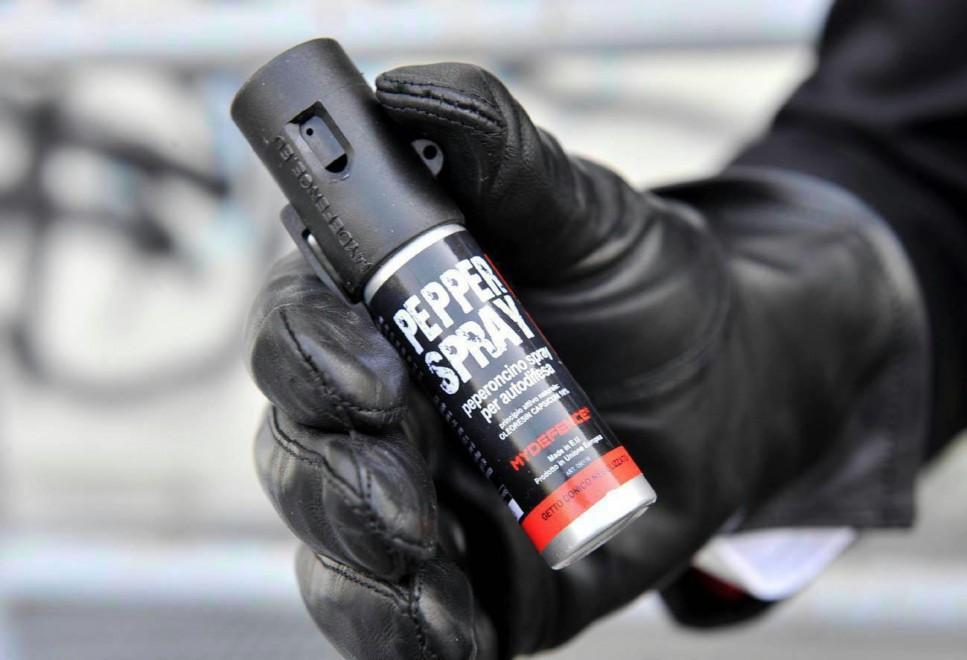 Intossicamento da Spray al Peperoncino