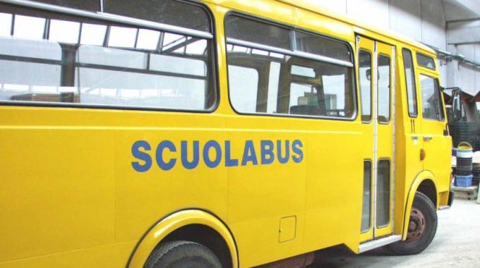 Travolto dallo Scuolabus