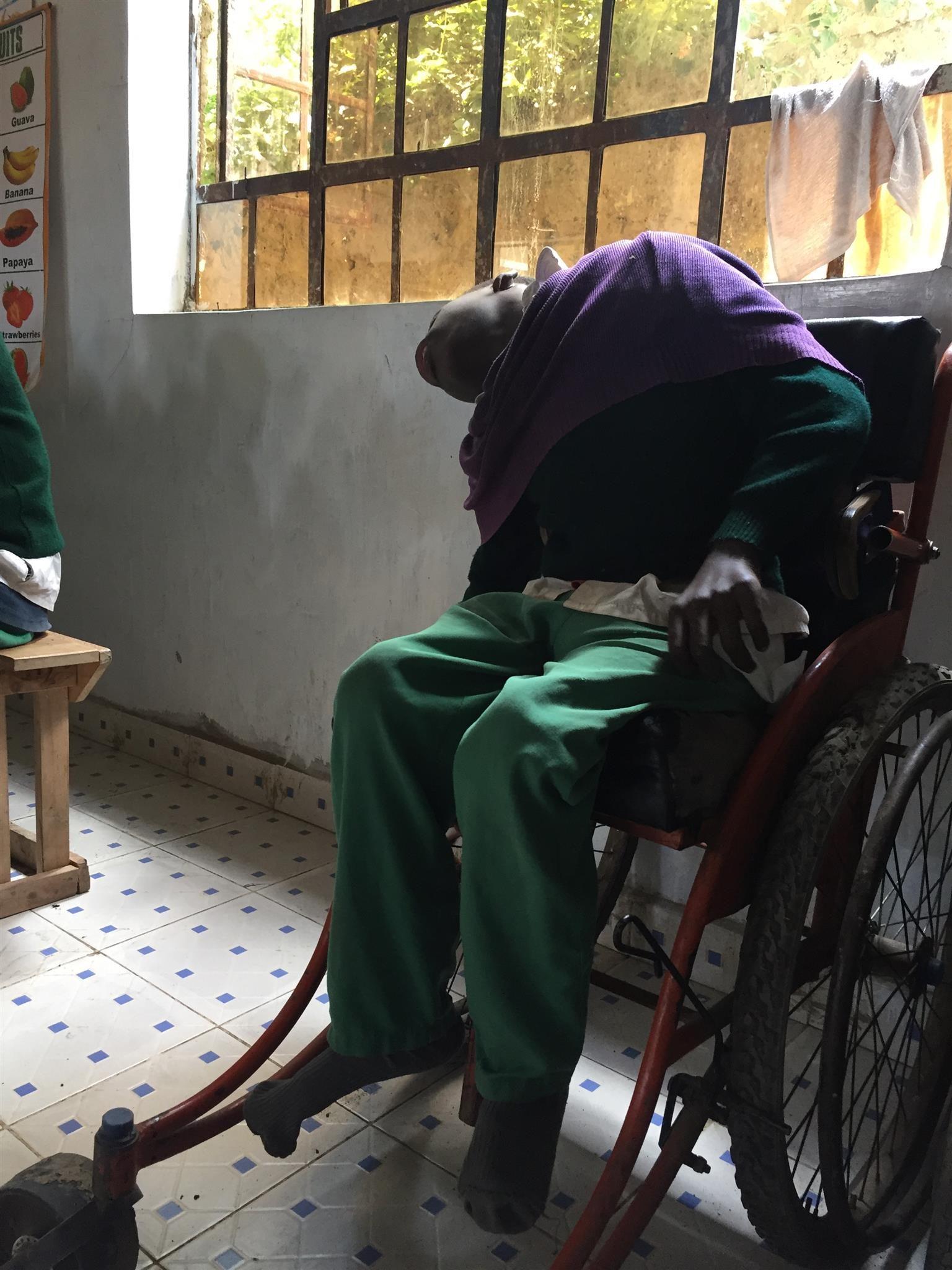 bambini disabili kenya