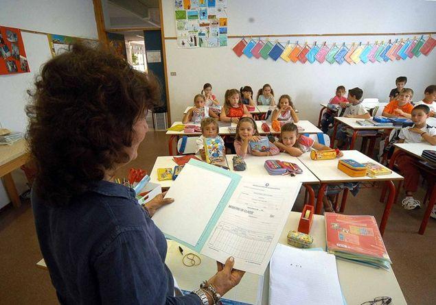 scuola primaria senza voti