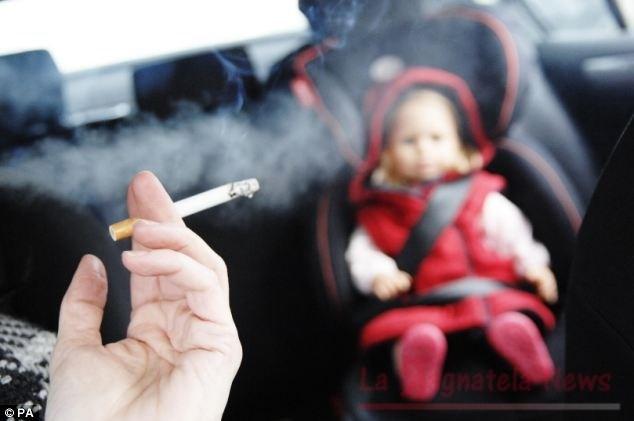 fumo passivo genitori