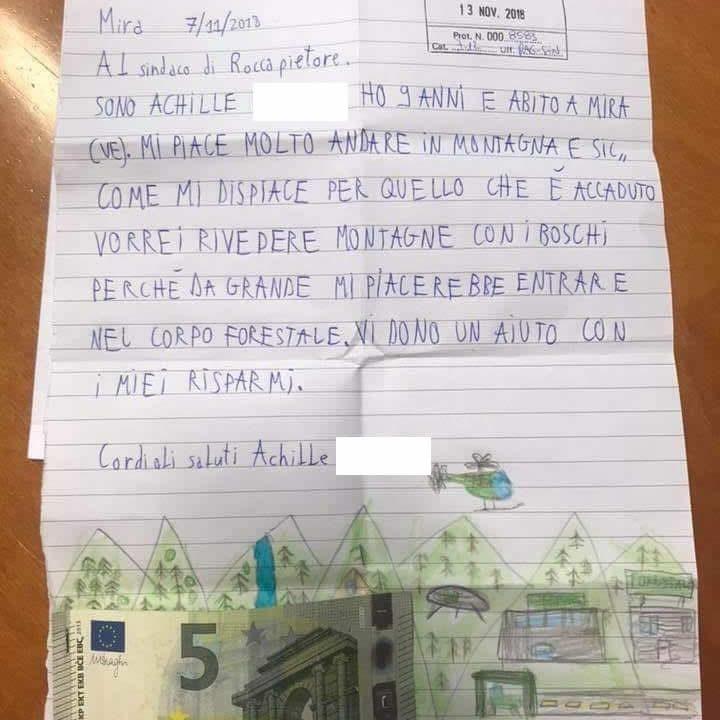 achille lettera paghetta