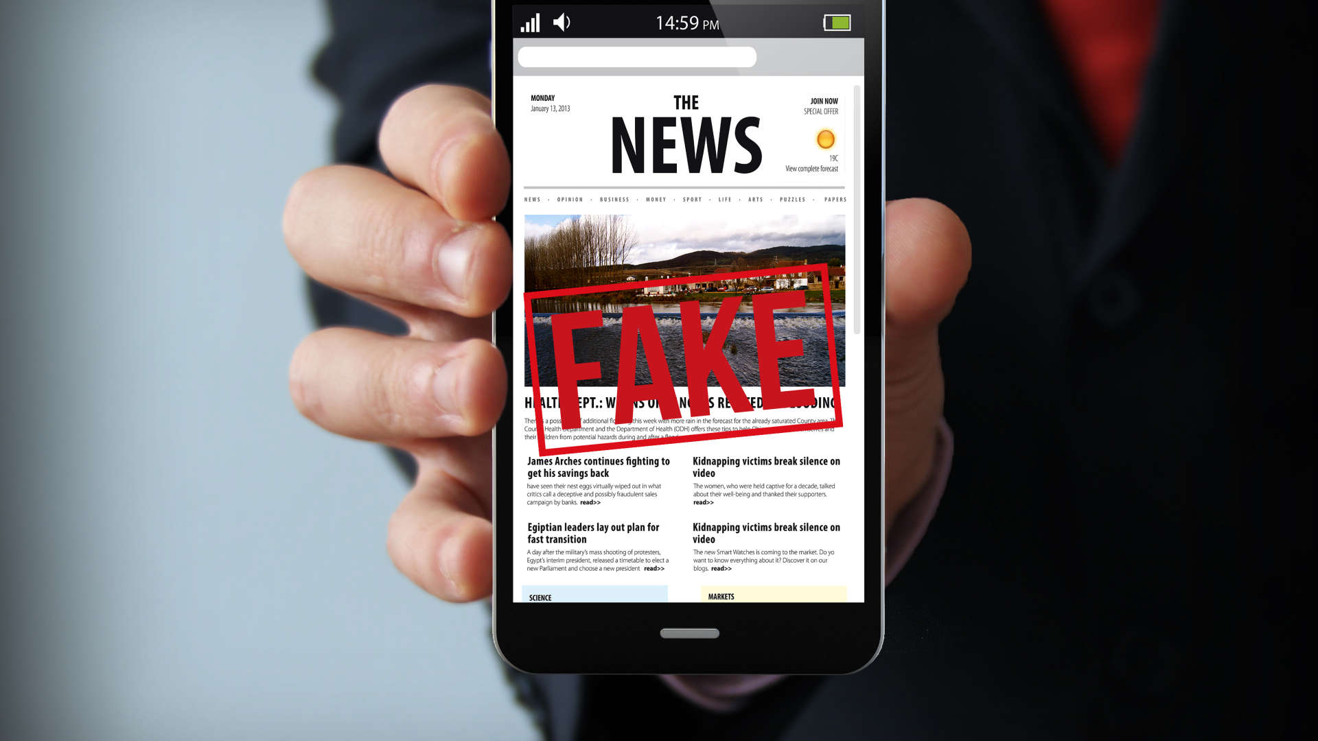 App Anti Fake-News
