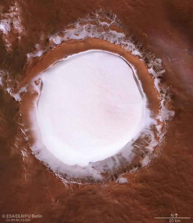 Cartolina Natalizia da Marte ESA