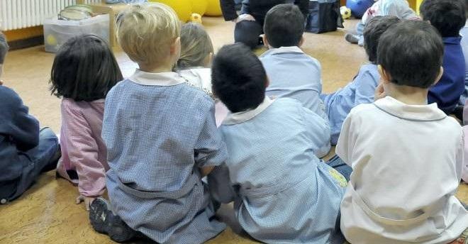 Grembiule nella Scuola Elementare