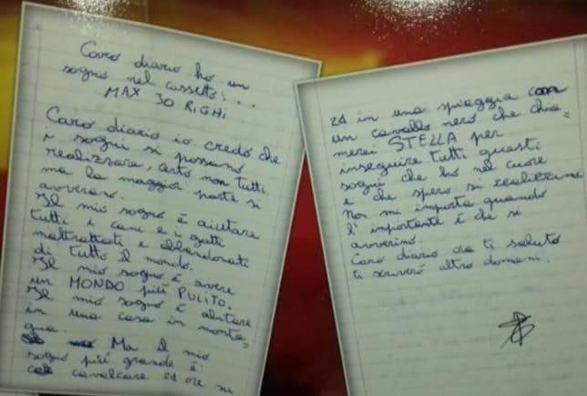 Sogno di Laura lettera