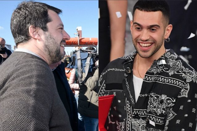 risposta di mahmood a salvini