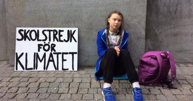 Cosa Sta Facendo Greta Thunberg