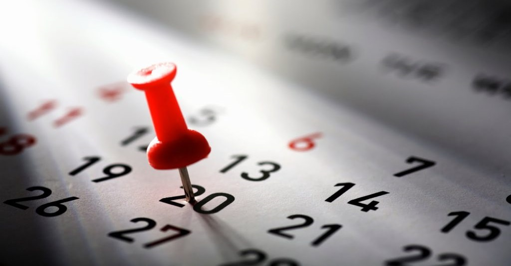 Calendario Anno Scolastico 2019-20