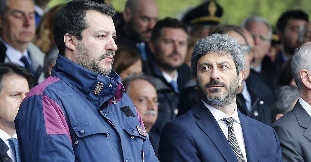 Matteo Salvini Provoca Roberto Fico