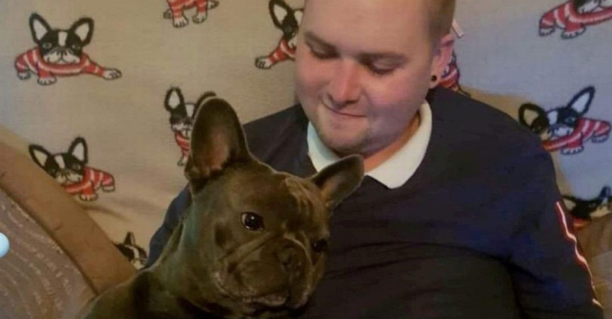 Stuart e il suo Bulldog