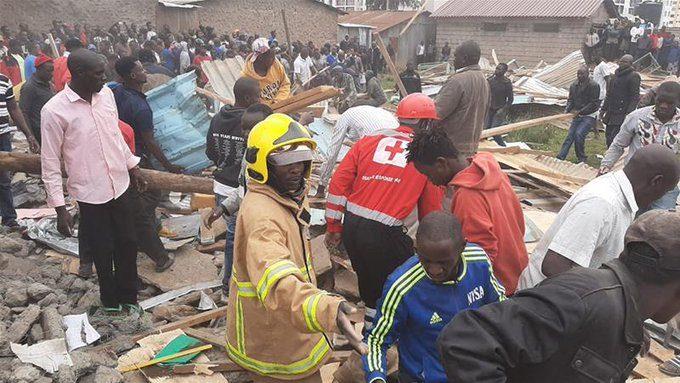 Crolla una Scuola a Nairobi