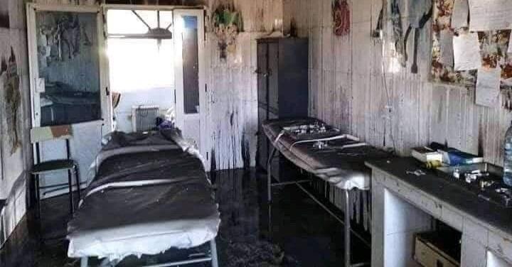 Incendio nel Reparto Maternità