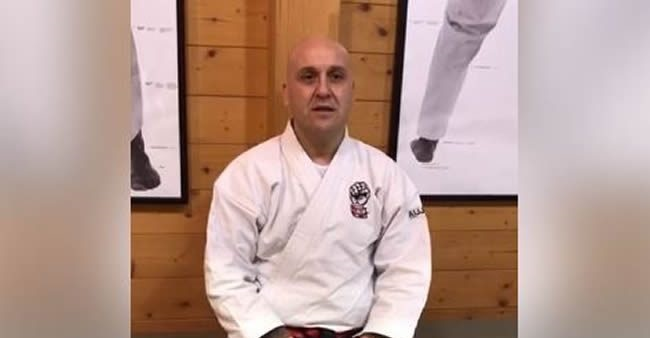Maestro di ju jitsu
