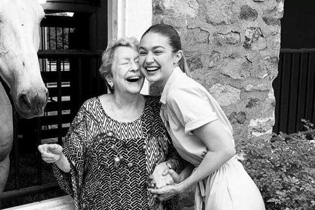 Nonna di Gigi e Bella Hadid