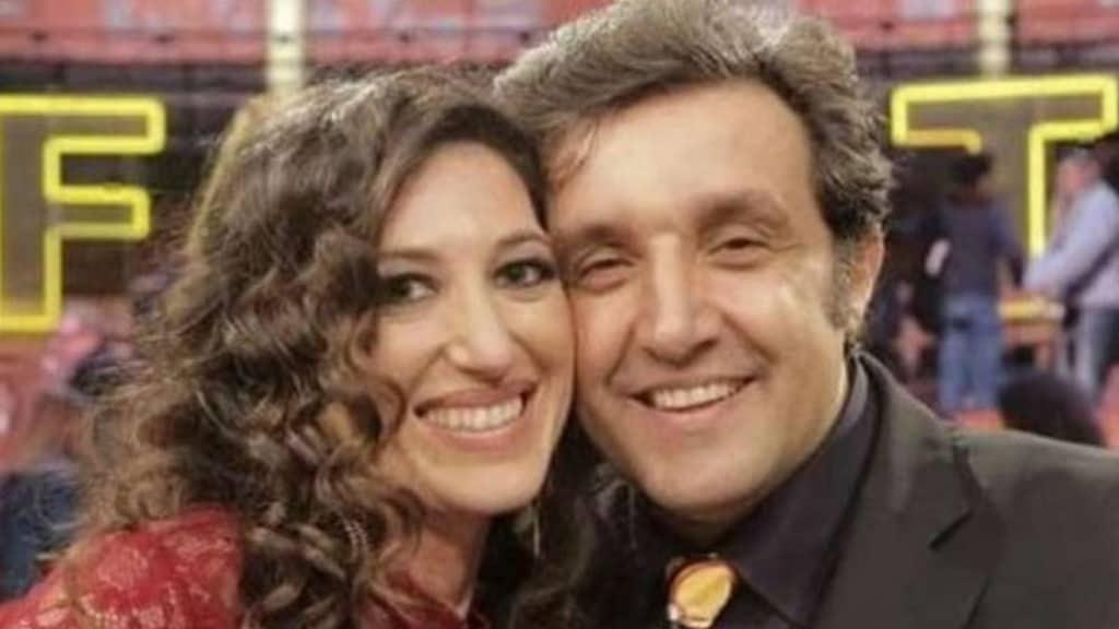 Flavio Insinna e Adriana Riccio