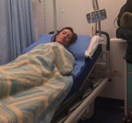 Ilaria Cucchi Ricoverata in Ospedale