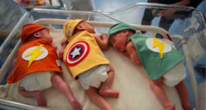 neonati supereroi