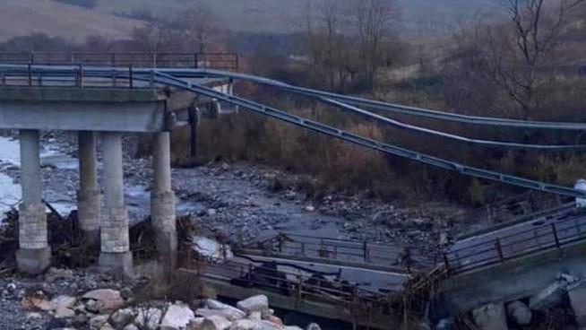 ponte siena crollato