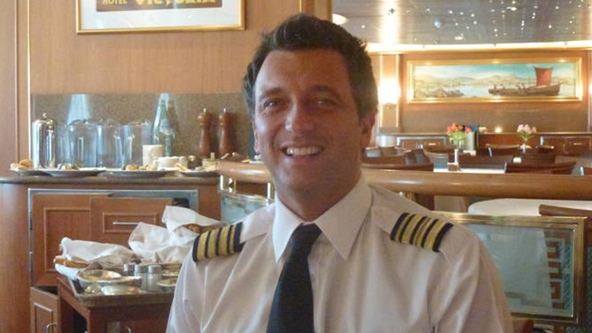 gennaro arma, capitano della diamond princess