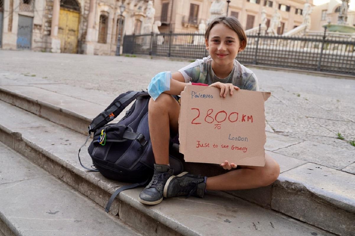 Londra-Palermo a Piedi