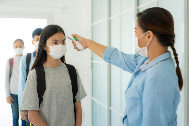 scuola non è fonte di contagio