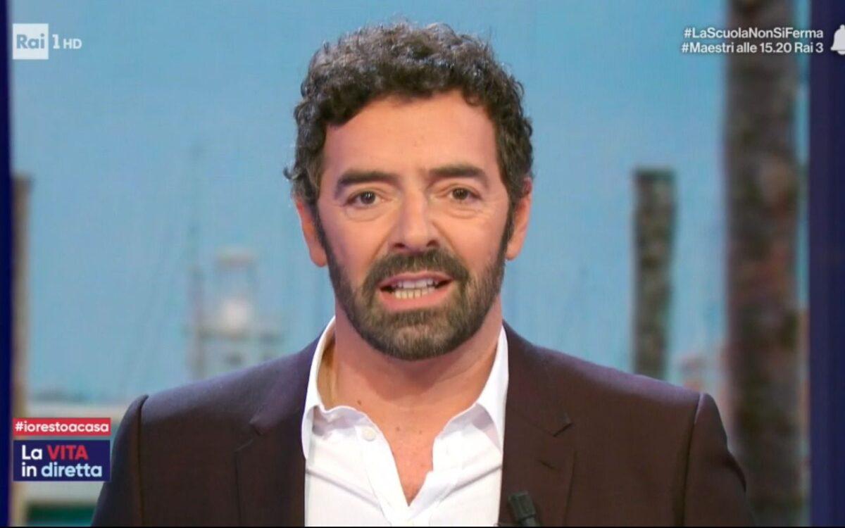 Alberto Matano a La Vita in Diretta