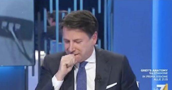 Giuseppe Conte Tossisce