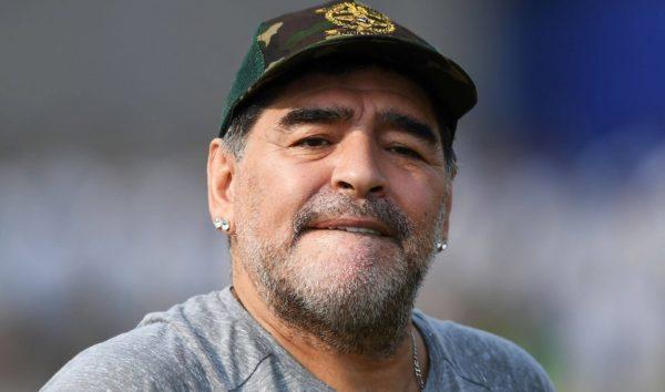 Selfie con La Salma di Maradona