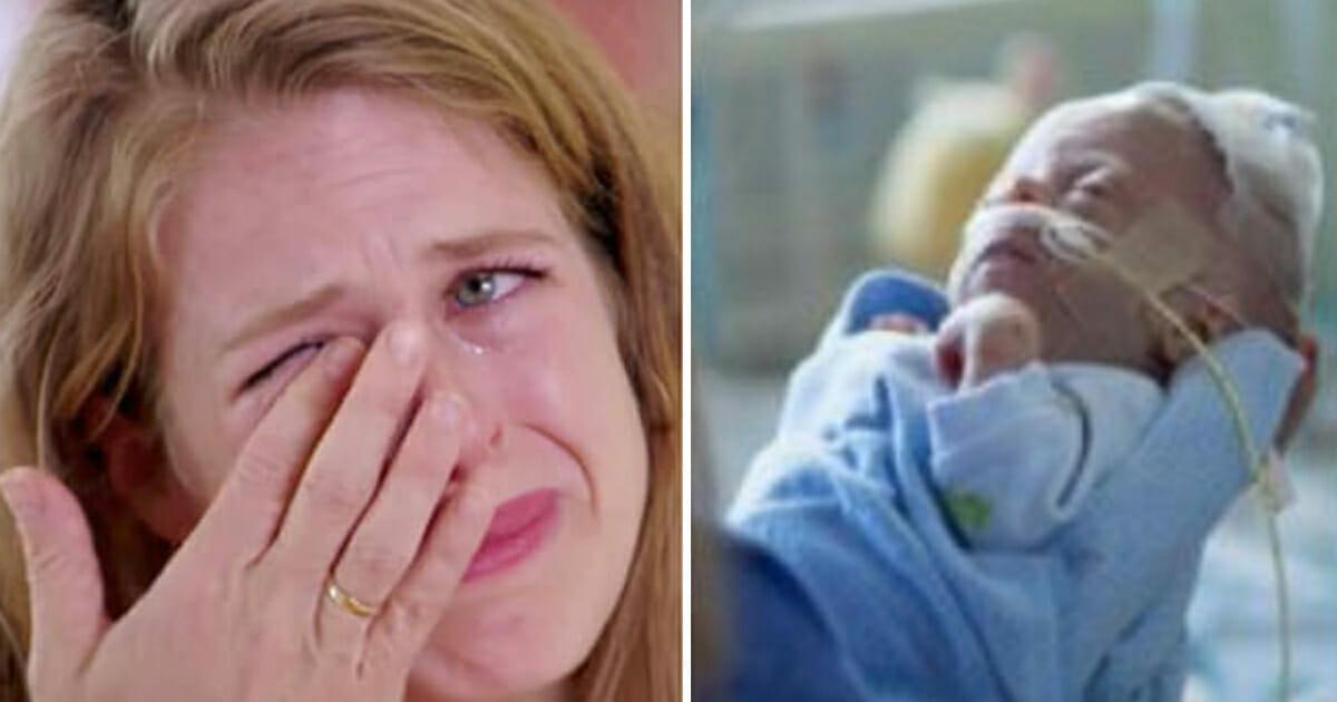 Neonato Muore dopo La Nascita cover