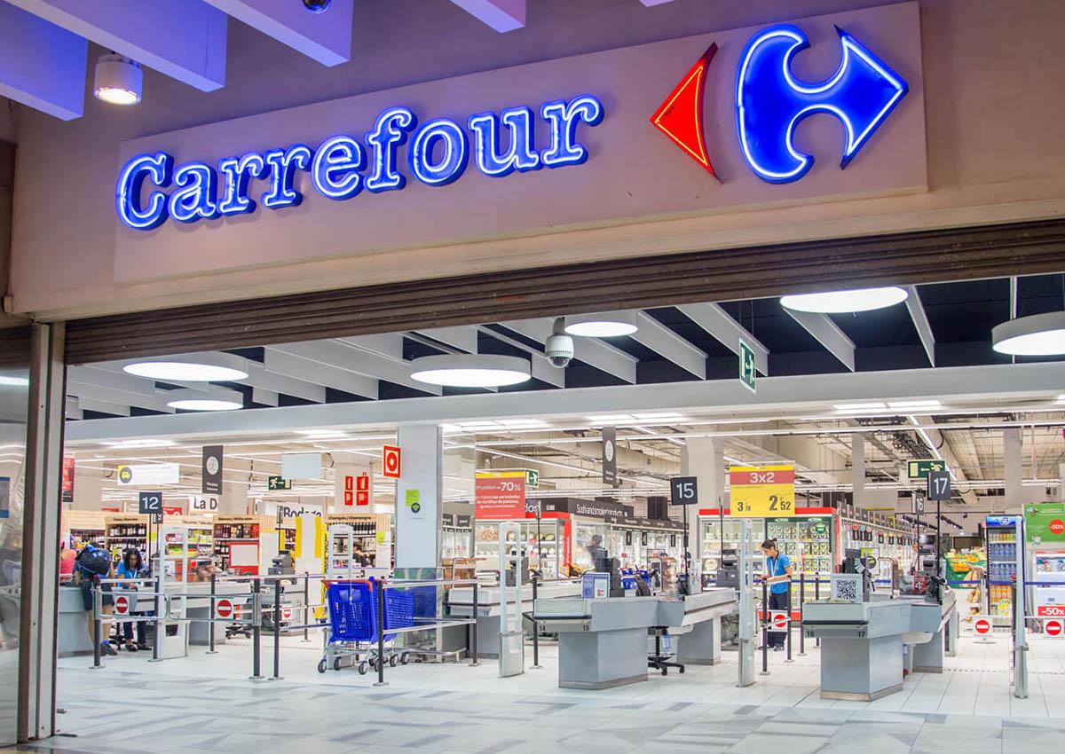 Ruba il Pane al Carrefour