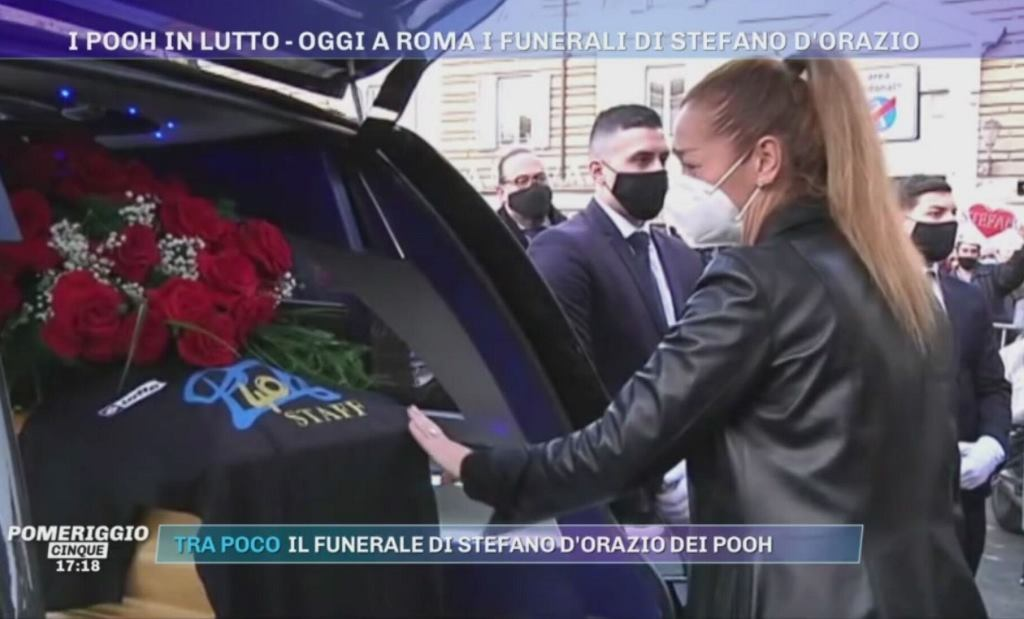 Moglie di Stefano D'Orazio