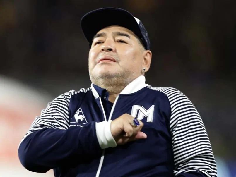 Camera Ardente di Maradona