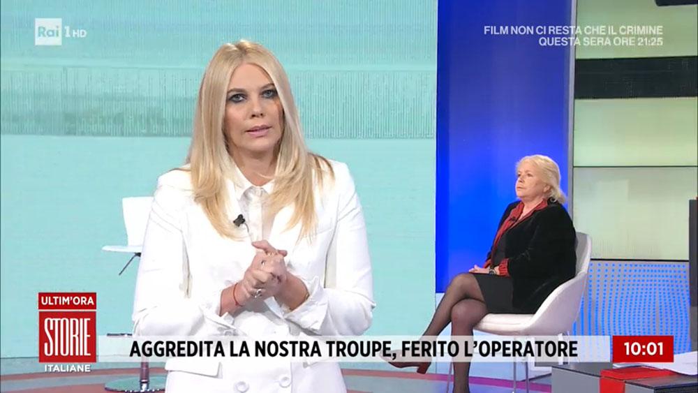 Aggredito in Diretta TV